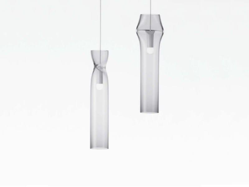 Glass pendant lamp PRESS LAMP | Pendant lamp by Lasvit