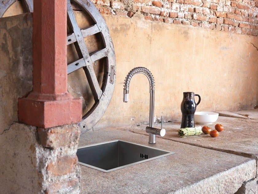Miscelatore da cucina con doccetta estraibile MOONY | Miscelatore da cucina by newform