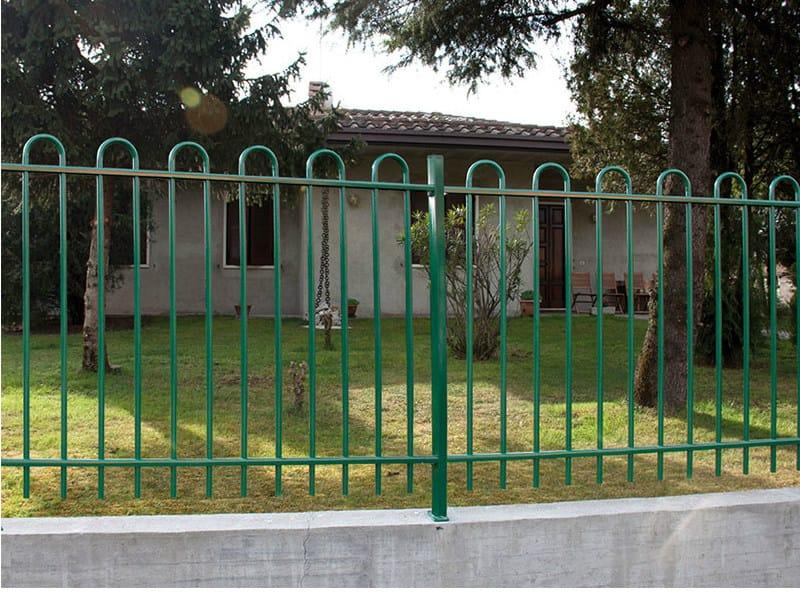 Bar modular iron Fence MARTINA LONG by CMC