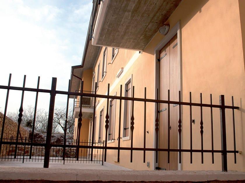 Bar modular iron Fence SCHIACCIATA by CMC