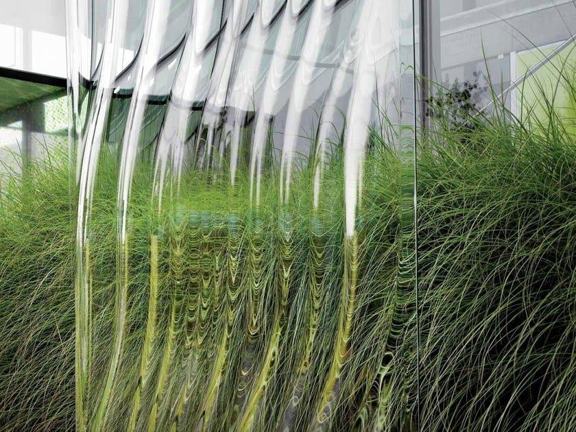Decorated glass LASVIT LIQUIDKRISTAL by Lasvit
