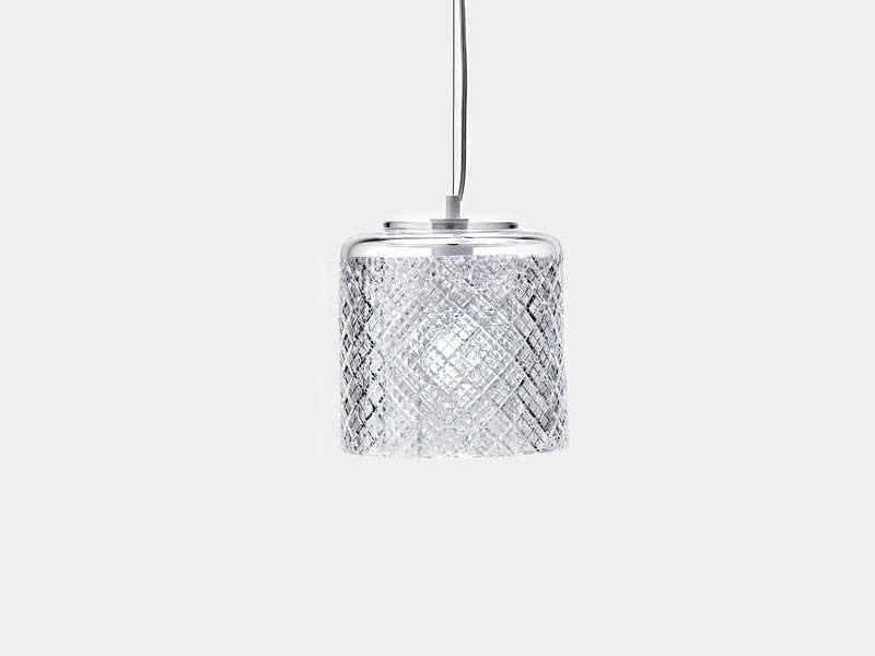 Hand decorated glass pendant lamp PATCHWORK | Pendant lamp by Lasvit