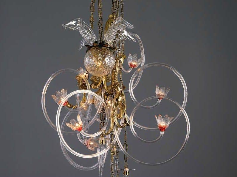Indirect light brass chandelier galaxy luminia by lasvit design indirect light brass chandelier galaxy luminia by lasvit aloadofball Images