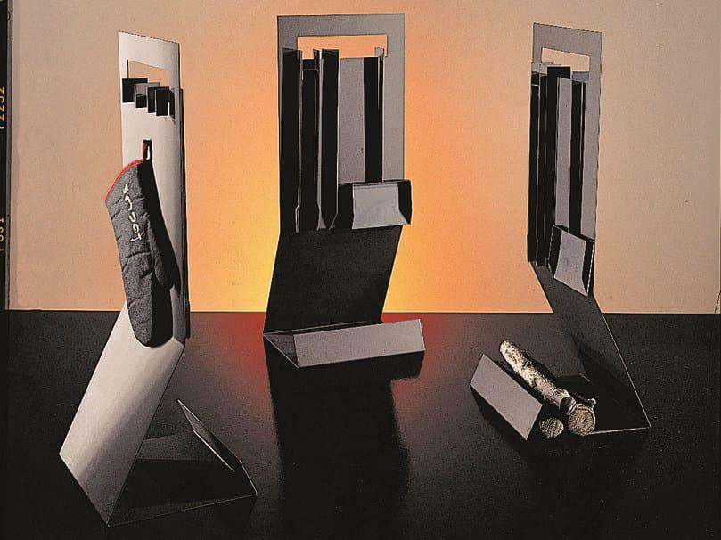 Steel Log holder / Fire tools DELTAFOCUS by Focus creation
