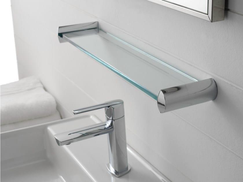 TANGO | Mensola bagno in vetro By ZAZZERI design Roberto Innocenti