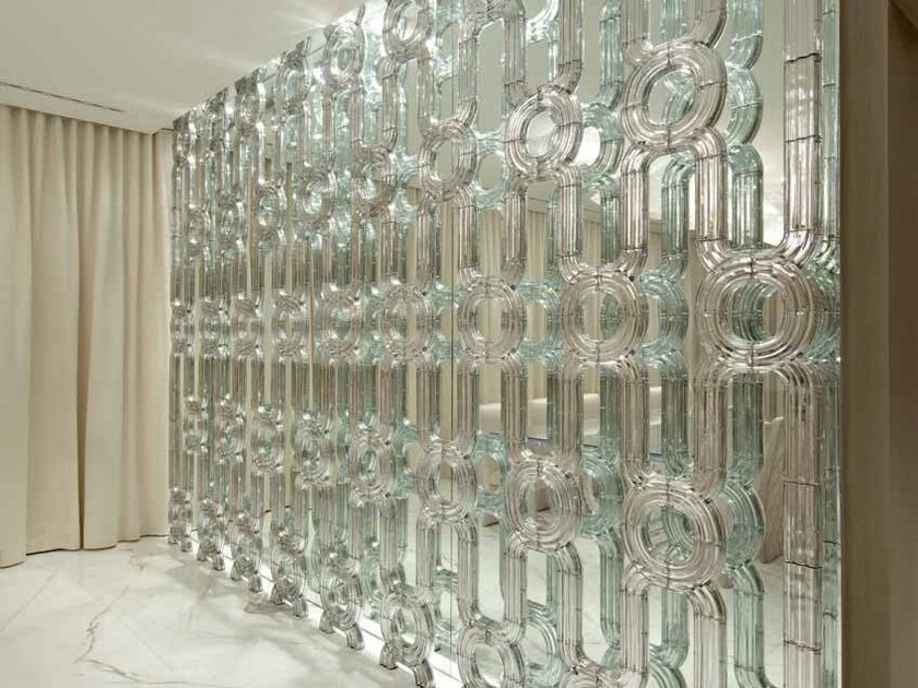Crystal wall LASVIT CRYSTAL WALL by Lasvit