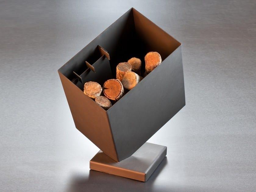Steel Log holder KASIFOCUS by Focus creation
