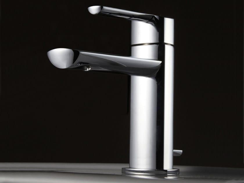 Countertop steel washbasin mixer TANGO   Washbasin mixer by ZAZZERI