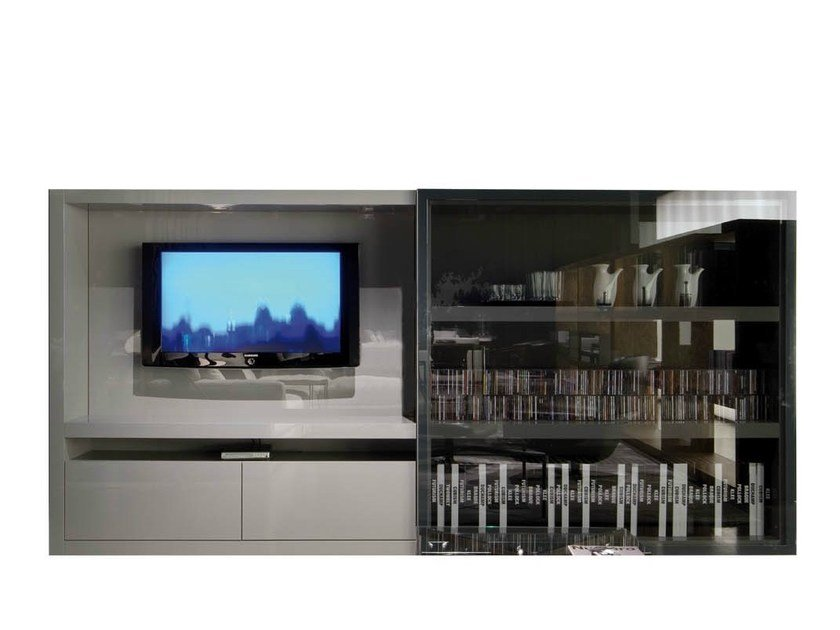 TV cabinet JOHNS HI-FI by Minotti