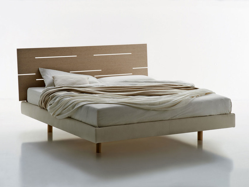 Elm double bed NATURE | Bed by Molteni