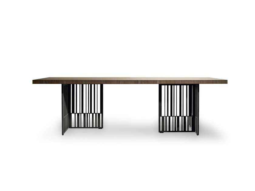 Tavolo rettangolare in olmo CODEX by Molteni&C