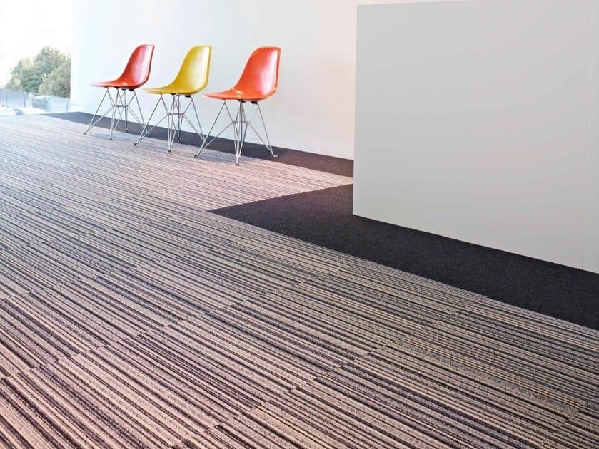 Carpet Tiles MODULE FIRST STRIPES By LIUNI