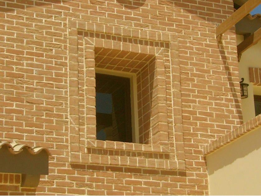 Special clay piece for fair faced facade Special clay piece for fair faced facade by FORNACE S. ANSELMO