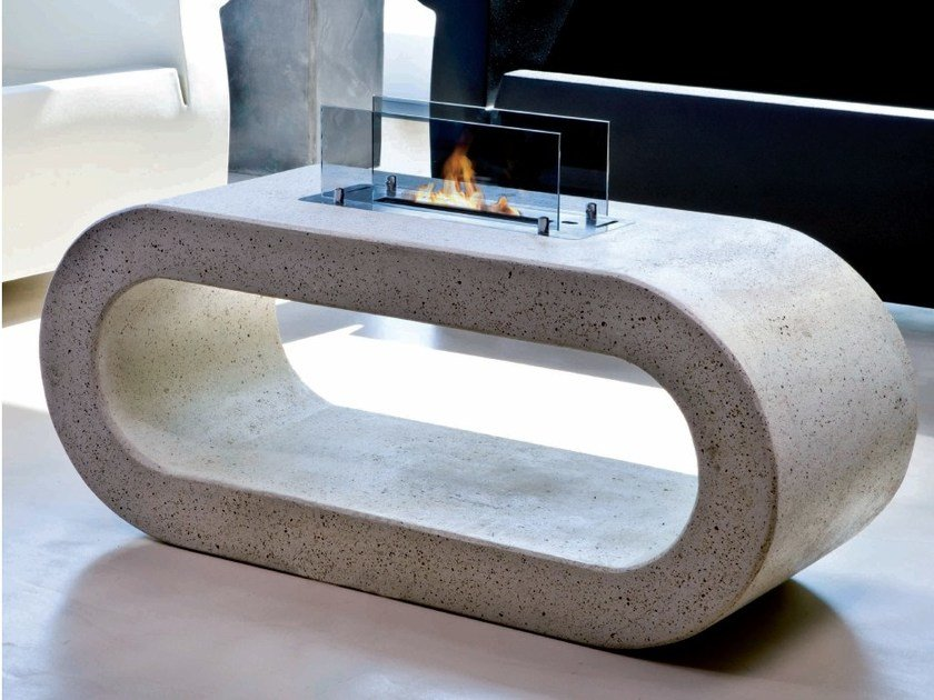 Bioethanol outdoor freestanding fireplace LIVORNO by BRITISH FIRES