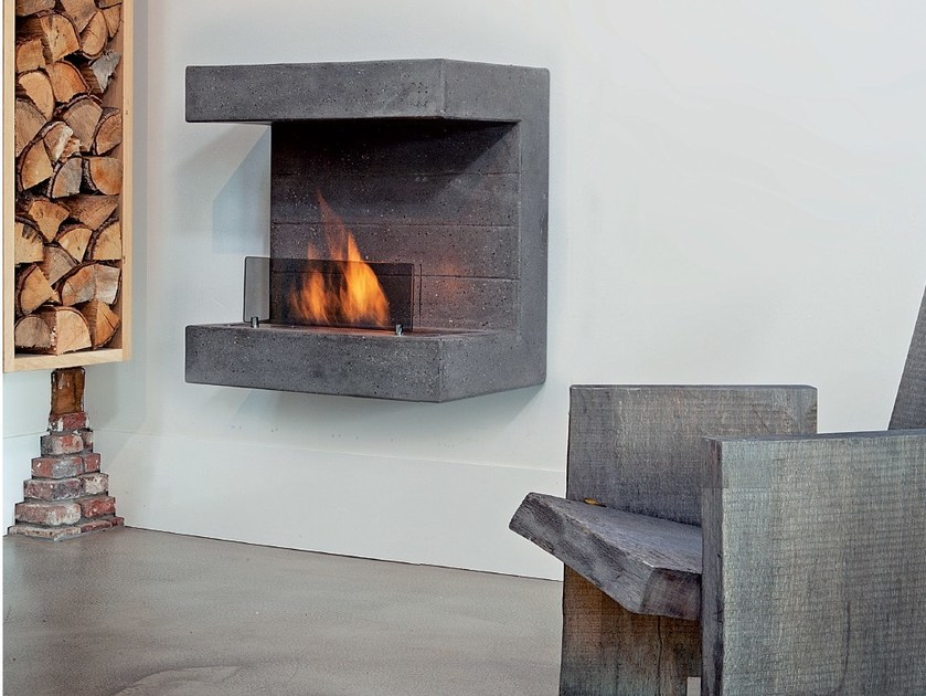 Bioethanol outdoor hanging fireplace SALERNO by BRITISH FIRES