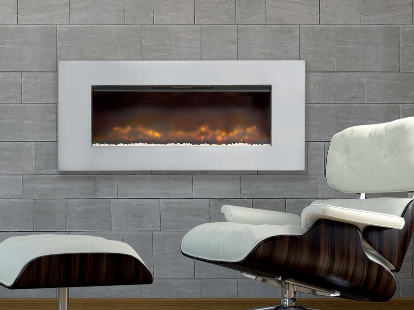 Electric built-in hanging fireplace HAMBLETON by BRITISH FIRES