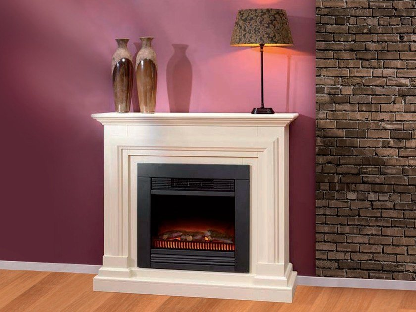 Electric wall-mounted fireplace BARCELLONA SUITE by BRITISH FIRES