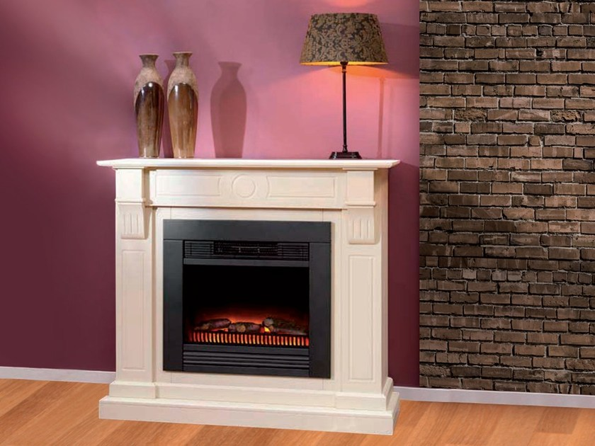 Electric wall-mounted fireplace MADRID SUITE by BRITISH FIRES