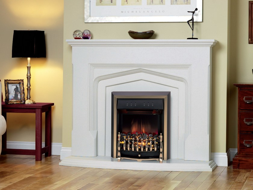 Wall-mounted electric fireplace ROTHERBY by BRITISH FIRES