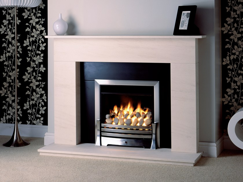Gas wall-mounted fireplace EKOS by BRITISH FIRES