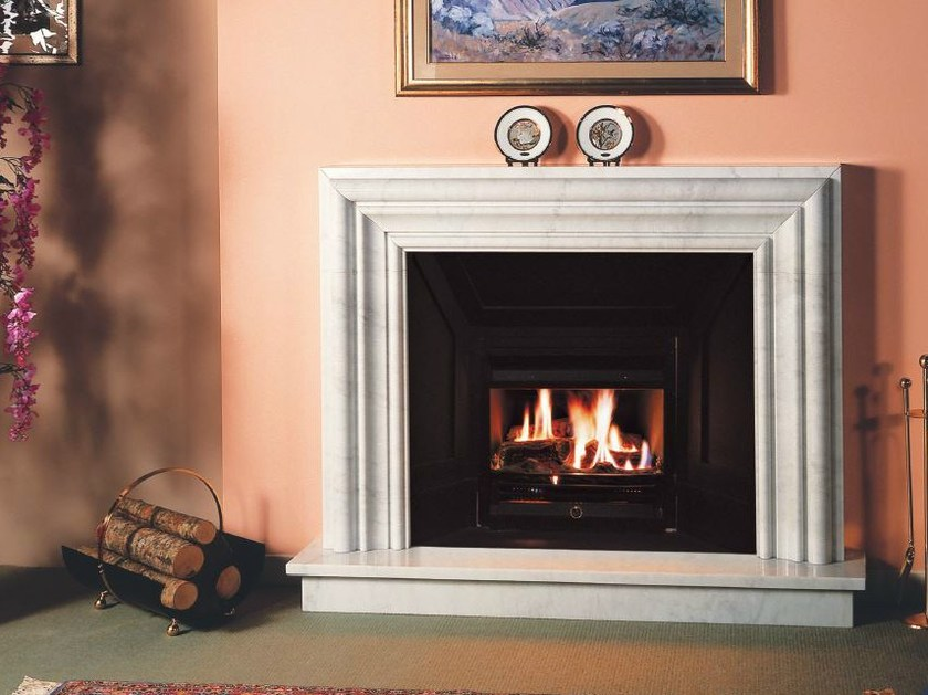 Gas wall-mounted fireplace BRF 22 E by BRITISH FIRES