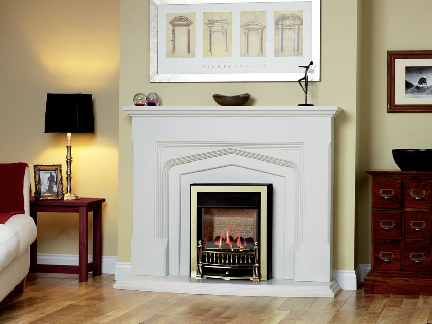 Gas wall-mounted fireplace ENVIRON by BRITISH FIRES