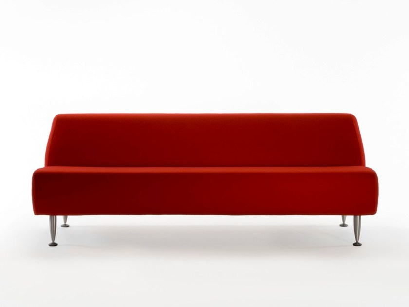 Synthetic fabric sofa DAFNE | 3 seater sofa by ROSSIN
