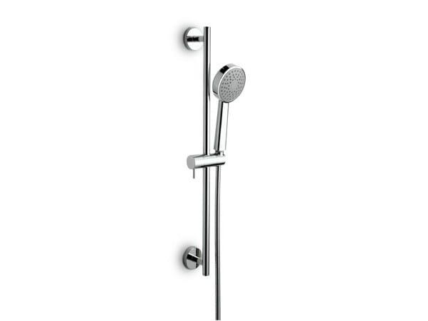 Shower wallbar with hand shower with hose EL-X | Shower wallbar by newform