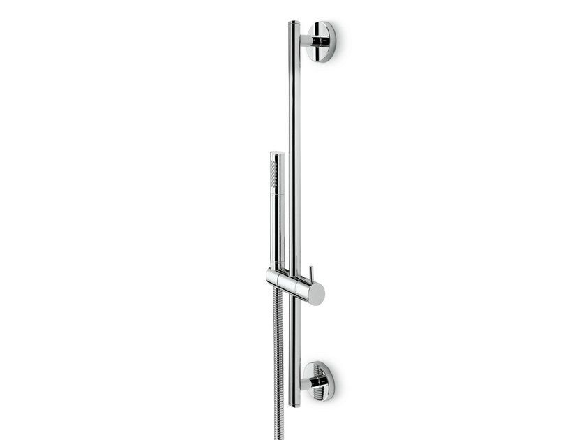 Shower wallbar with hand shower with hose EL-X | Shower wallbar with hand shower by newform