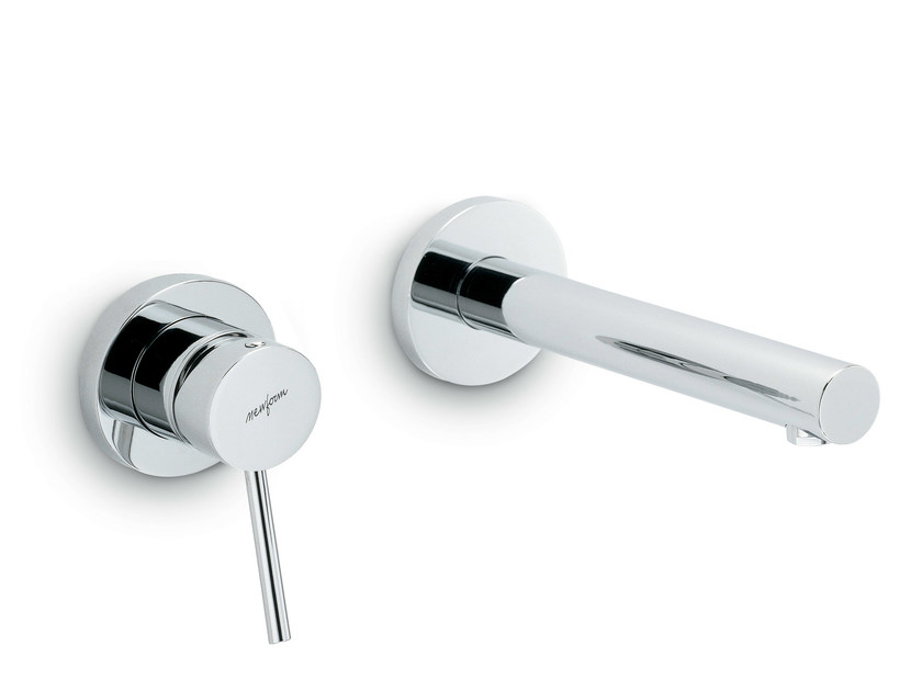 2 hole wall-mounted single handle washbasin tap X-TREND | 2 hole washbasin tap by newform