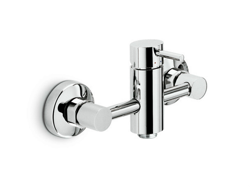 Single handle shower mixer MINI-X | Single handle shower mixer by newform