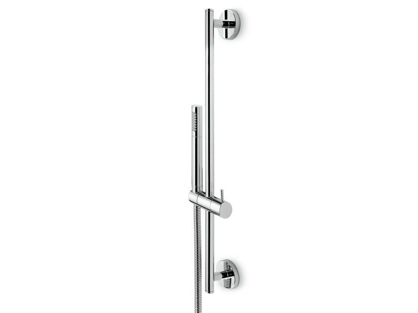 Shower wallbar with hand shower with hose MINI-X | Shower wallbar by newform