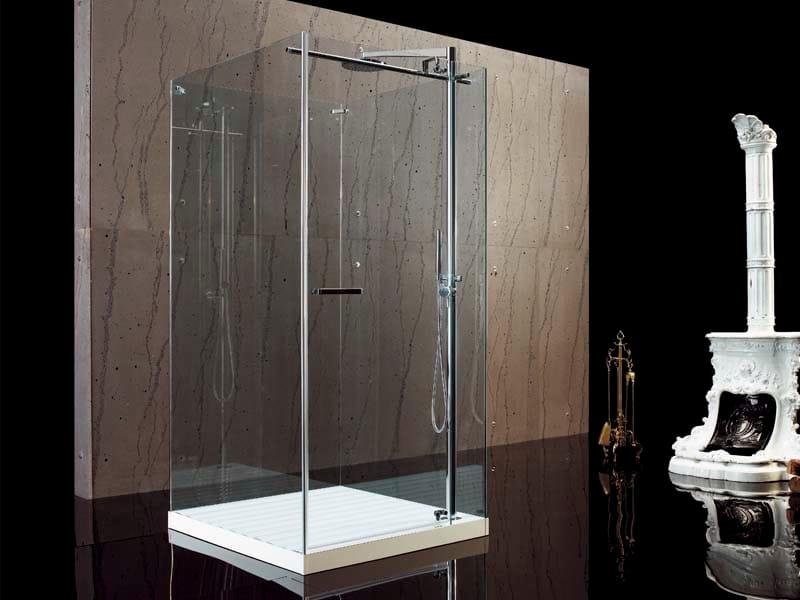FILODOCCIA | Free standing shower cabin By MEGIUS