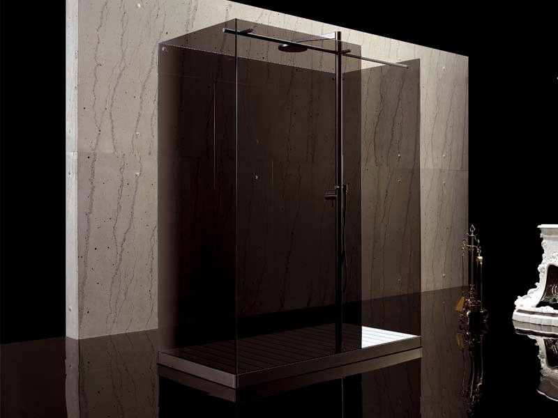 2 places free standing shower cabin FILODOCCIA | Free standing shower cabin by MEGIUS