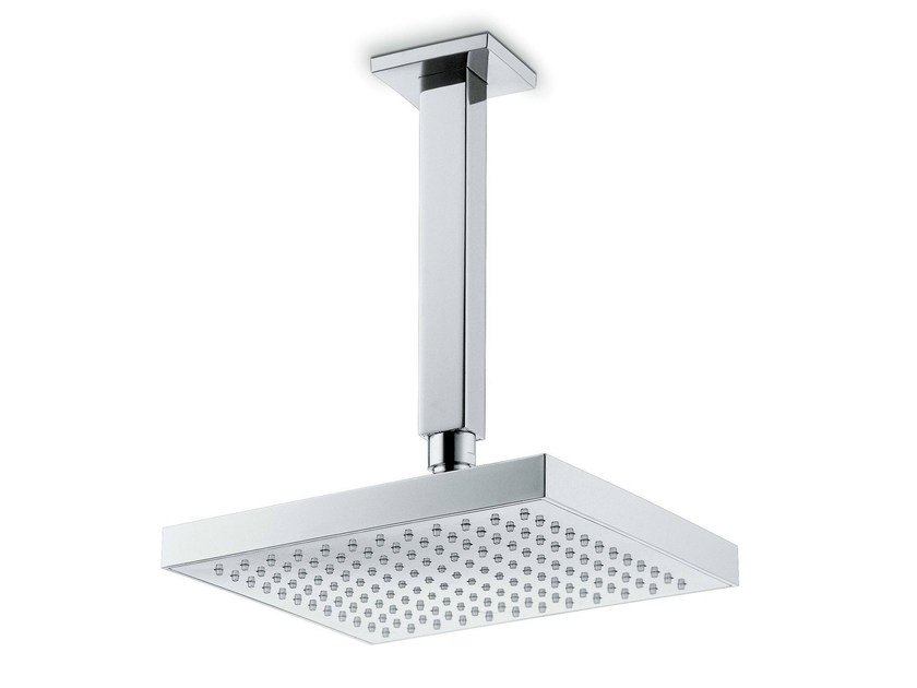 Ceiling mounted rain shower X-SENSE | Ceiling mounted overhead shower by newform