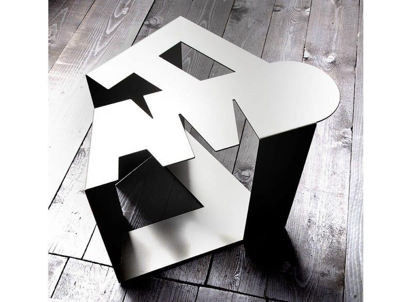 Metal coffee table for living room TI AMO by ERBA ITALIA