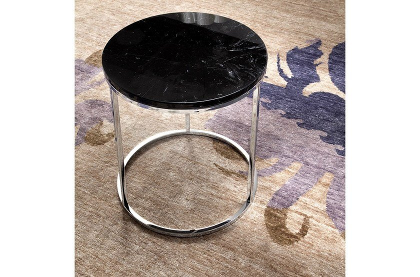 Round coffee table for living room LAMP COFFEE by ERBA ITALIA