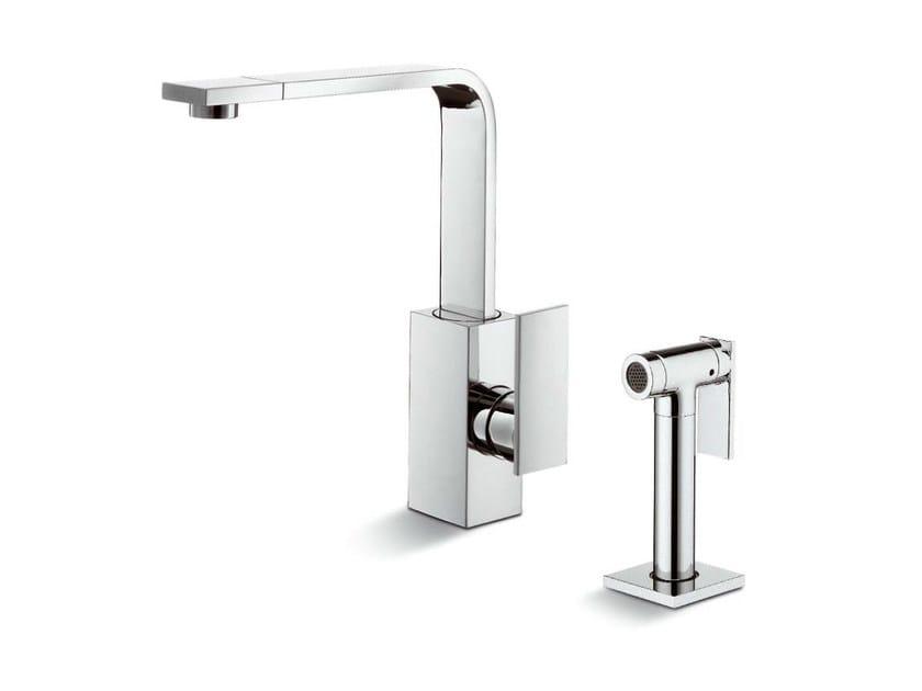 2 hole kitchen mixer tap D-RECT KITCHEN | Kitchen mixer tap by newform