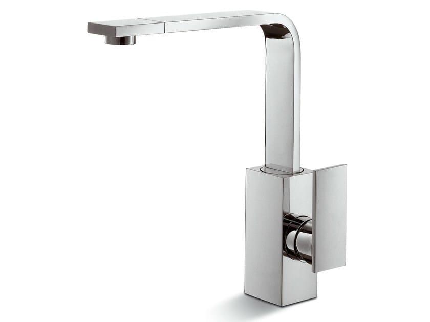 Countertop kitchen mixer tap with swivel spout D-RECT KITCHEN | Countertop kitchen mixer tap by newform