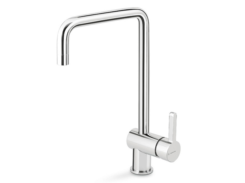 Countertop kitchen mixer tap with swivel spout ERGO KITCHEN | Kitchen mixer tap with swivel spout by newform