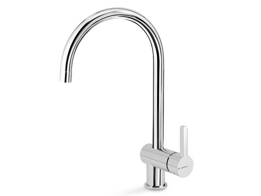 Kitchen mixer tap with swivel spout ERGO KITCHEN | Countertop kitchen mixer tap by newform