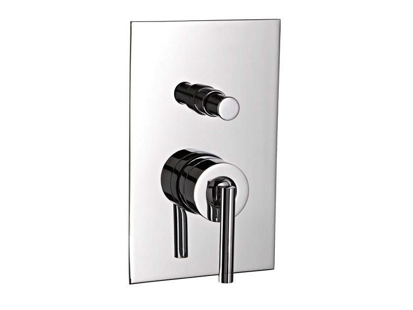 Concealed bath/shower mixer ARCHÈ | Shower mixer with plate by Rubinetterie 3M