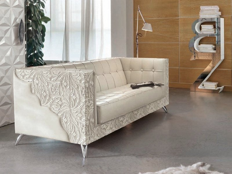 3 seater sofa REBECCA | Sofa by Bizzotto
