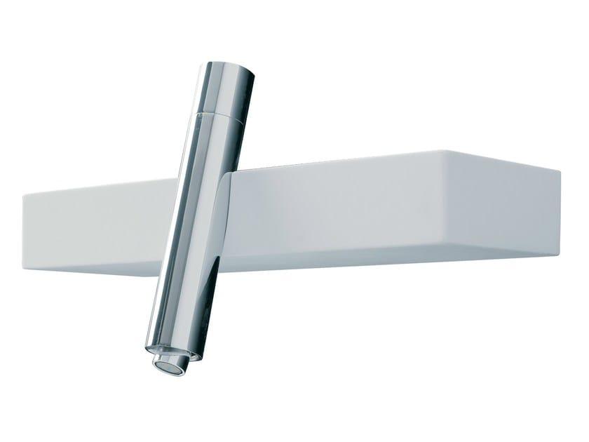 Wall-mounted single handle bidet mixer BLOK | Bidet mixer by Rubinetterie 3M