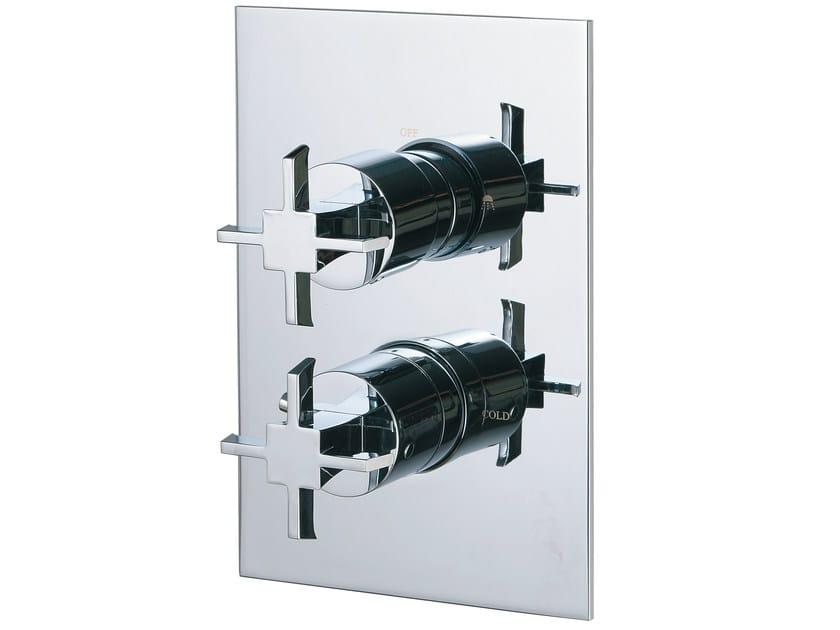 2 hole thermostatic shower mixer BRIDGE   2 hole thermostatic shower mixer by Rubinetterie 3M