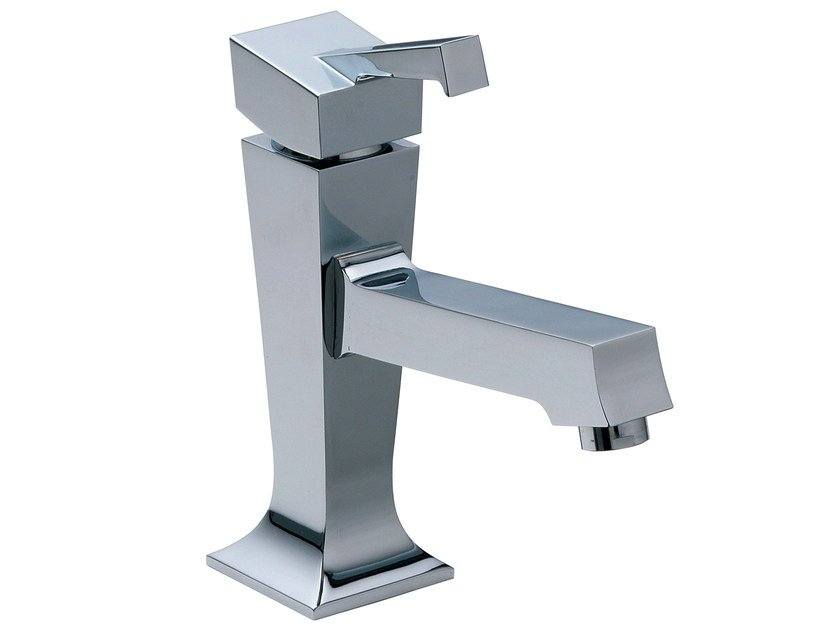 Single handle 1 hole washbasin mixer BRIDGE_MONO | Single handle washbasin tap by Rubinetterie 3M