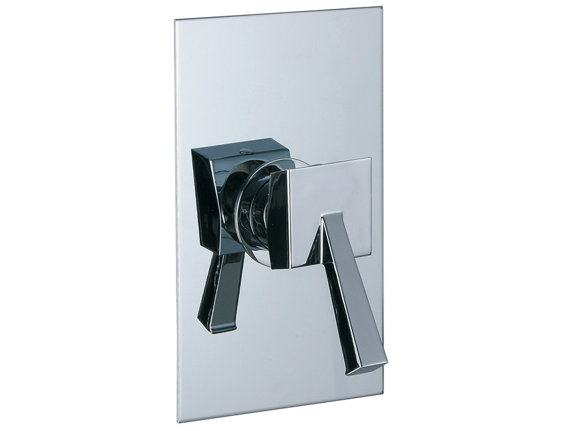 Single handle shower mixer with plate BRIDGE_MONO | Single handle shower mixer by Rubinetterie 3M