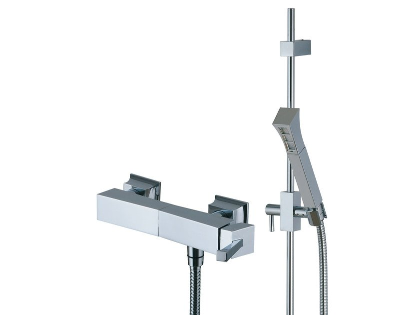 Single handle shower mixer with hand shower BRIDGE_MONO | Shower mixer with hand shower by Rubinetterie 3M