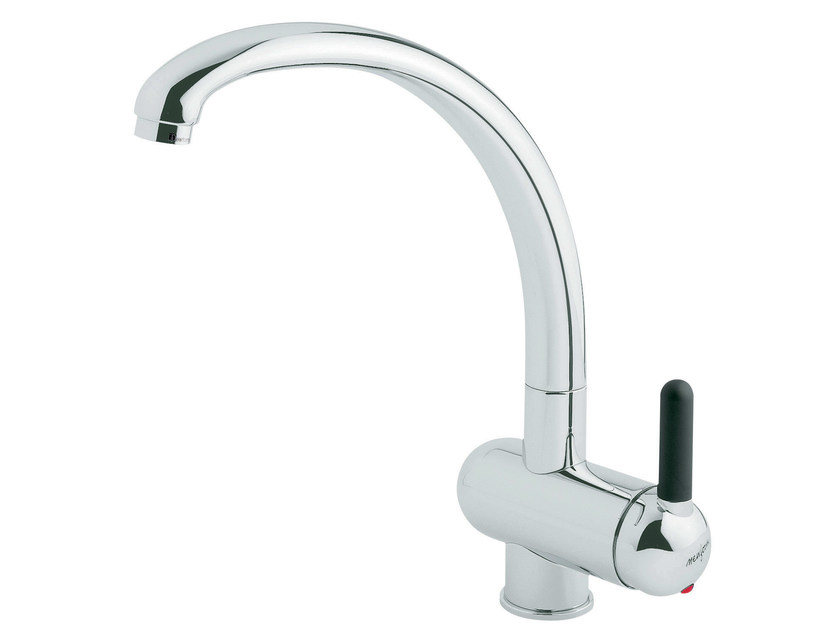 Countertop 1 hole kitchen mixer tap with swivel spout MARVEL | 1 hole kitchen mixer tap by newform