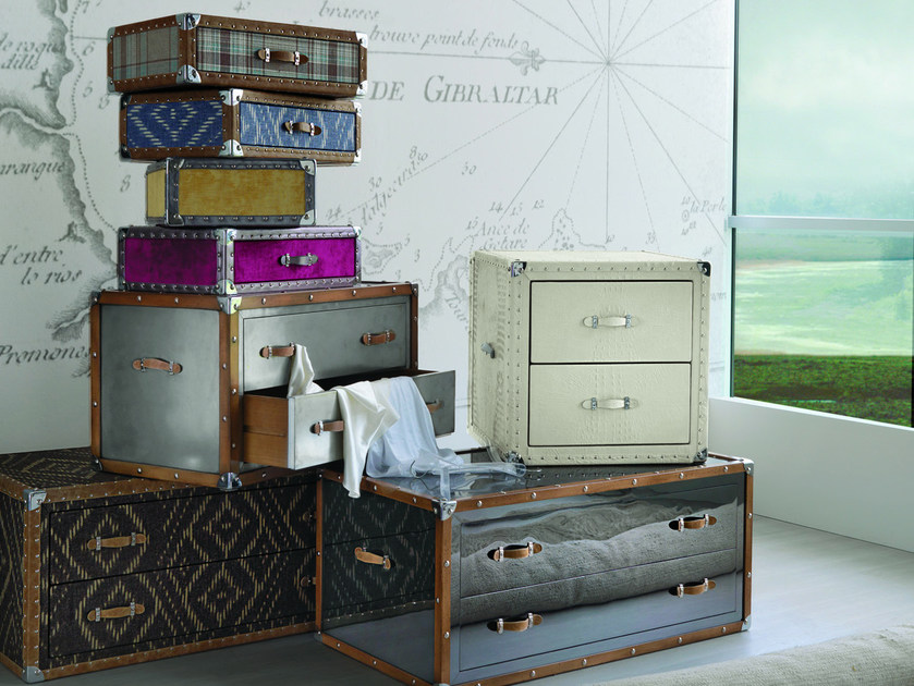 Modular chest of drawers VOYAGE PRIVÈ by Bizzotto